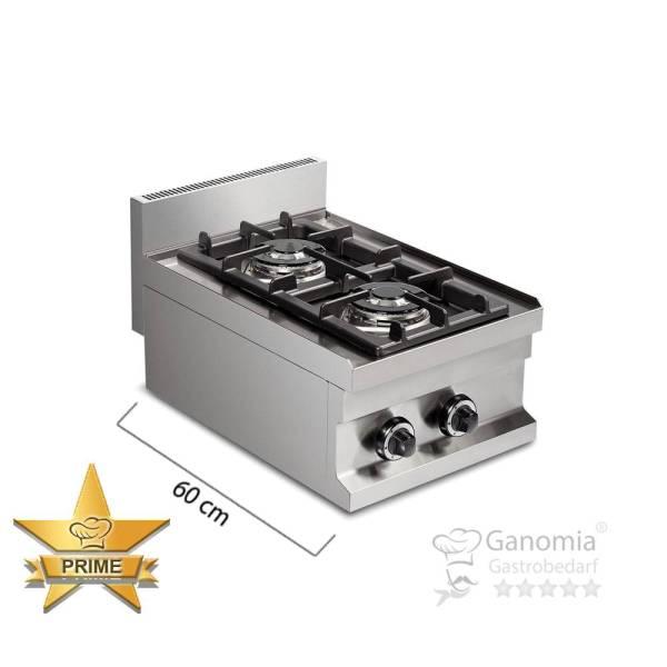 Gasherd Tischgerät 2 Brenner 7,2 kW