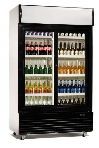 Gastro Flaschenkühler Umluftkühlung 400 Liter