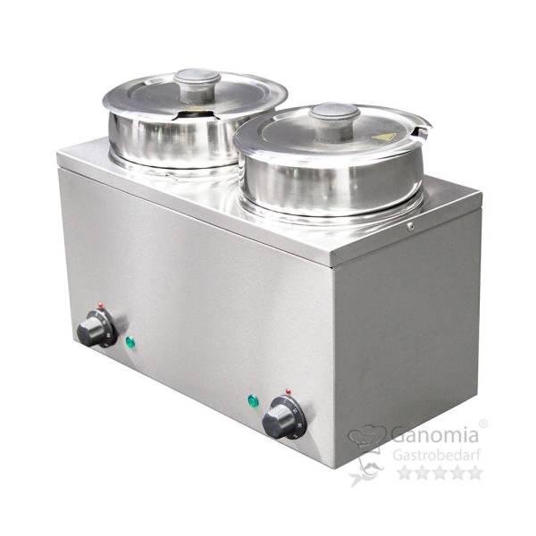 Bain-Marie Hotpot 2 x Topf 6,5 Liter