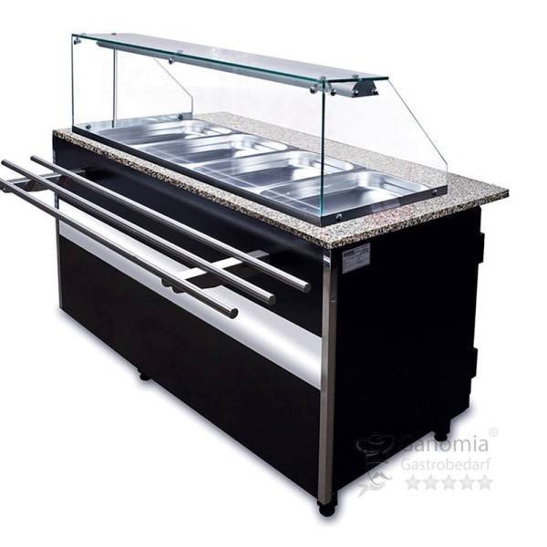 Salattheke Umluftkühlung 1300 x 800 x 1250 mm
