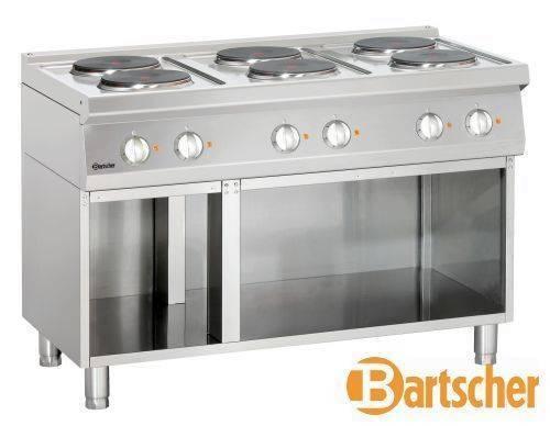 Bartscher Gastro Elektroherd mit 6 Kochfelder