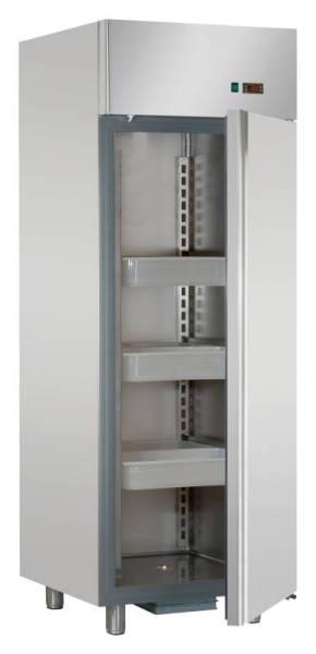 Gastro Fischkühlschrank aus Edelstahl mit 1 Tür 700 Liter