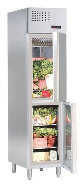 Gastro Kühlschrank Umluftkühlung mit 2 Türen