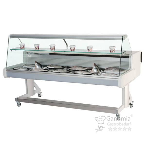 Fischkühltheke 206,4 x 111,4 x 110,5 cm