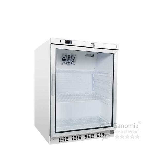 Gastro Kühlschrank Glastür Statische Kühlung 200 Liter