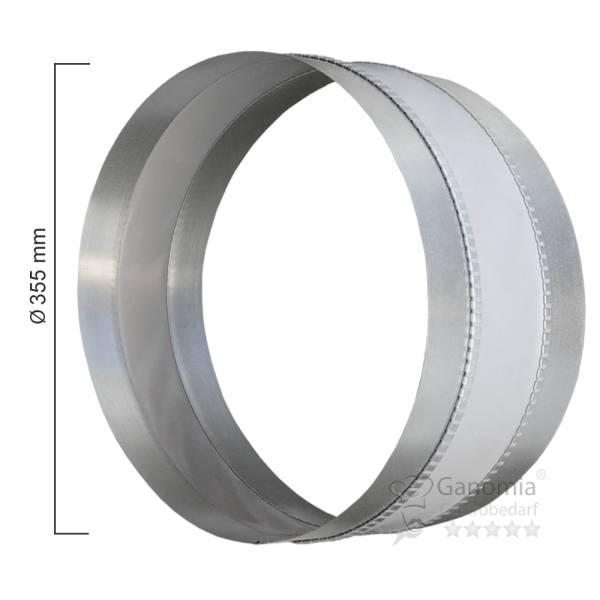 Segeltuchstutzen rund mit 355 mm Durchmesser