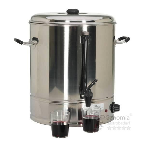 Glühweinkessel 26 Liter Edelstahl