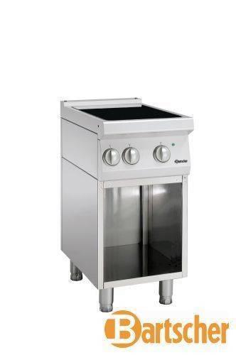 Bartscher Gastro Elektroherd 2 Kochfelder Induktion