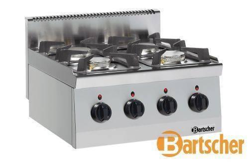 Bartscher Gastro Gasherd 4 Flammen Tischgerät