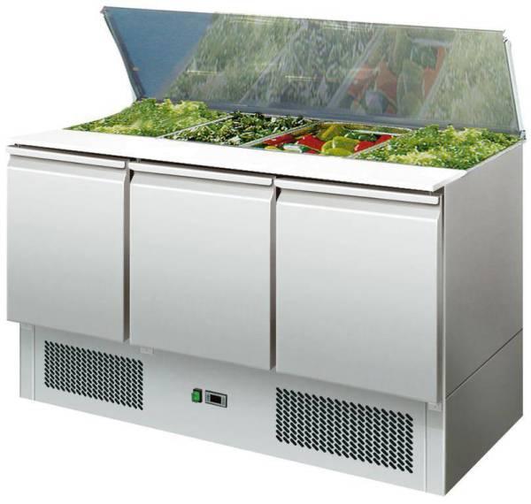 Saladette 3 Türen 368 Liter