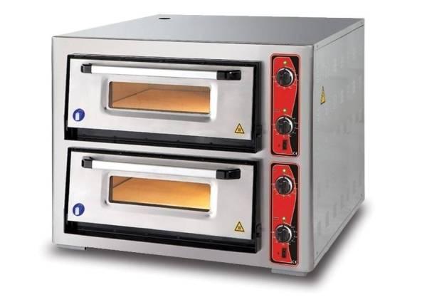 Pizzaofen Doppelkammer 8xØ 34 cm