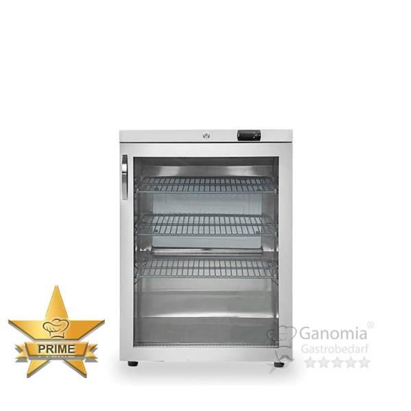 Gastro Kühlschrank 161 Liter Umluft Glastür