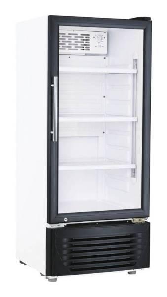 Gastro Kühlschrank Glastür Umluftkühlung 196 Liter