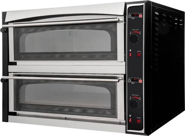 Pizzaofen Master Vollschamott digital - 2 Kammern 18 kW