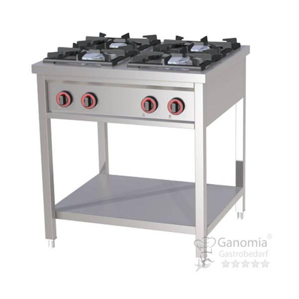 Gastro Gasherd 4 flammig