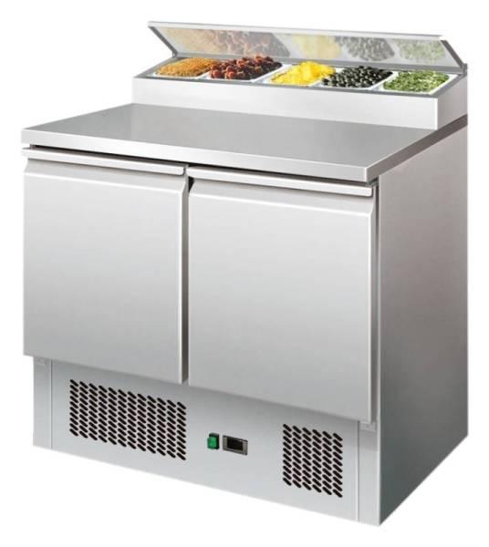 Saladette mit Kühlaufsatz 254 Liter