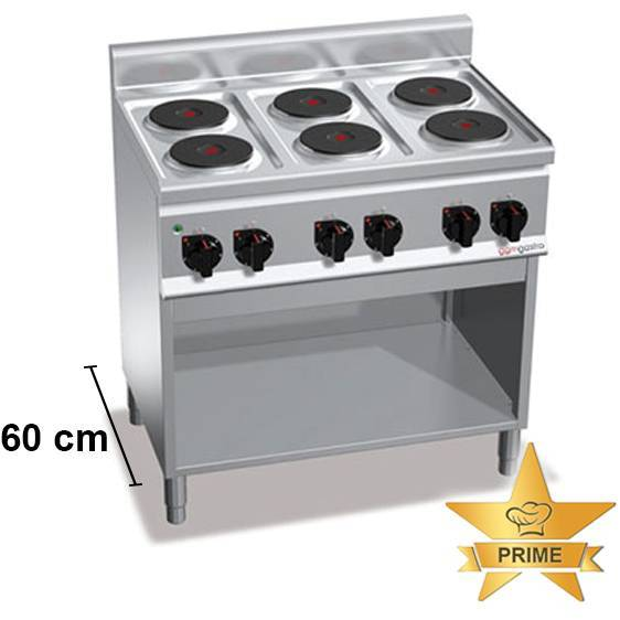 Gastro Elektroherd mit 6 Kochfelder