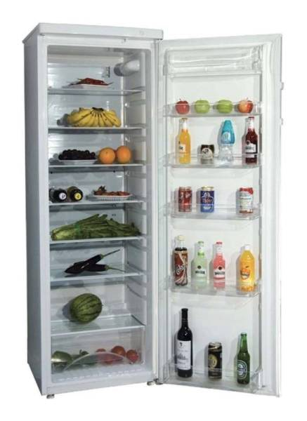 Gastro Kühlschrank Glastür 328 Liter