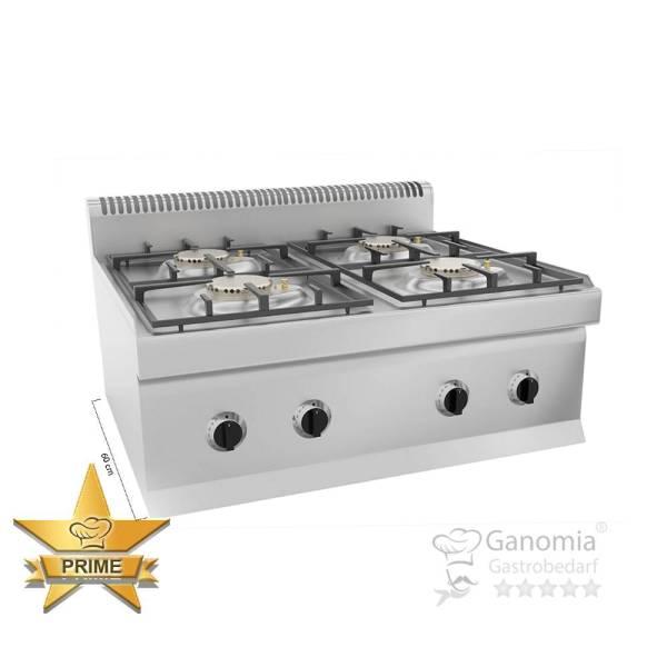 Gastro Gasherd Tischgerät 4 flammig