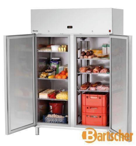Bartscher Kühlschrank 2 Türen 1400 Liter Edelstahl
