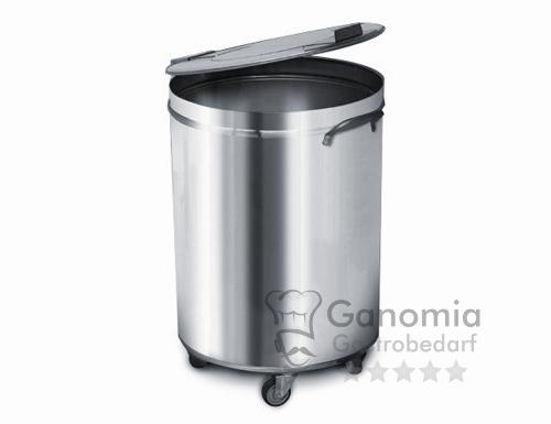 Edelstahl Mülleimer 50 Liter