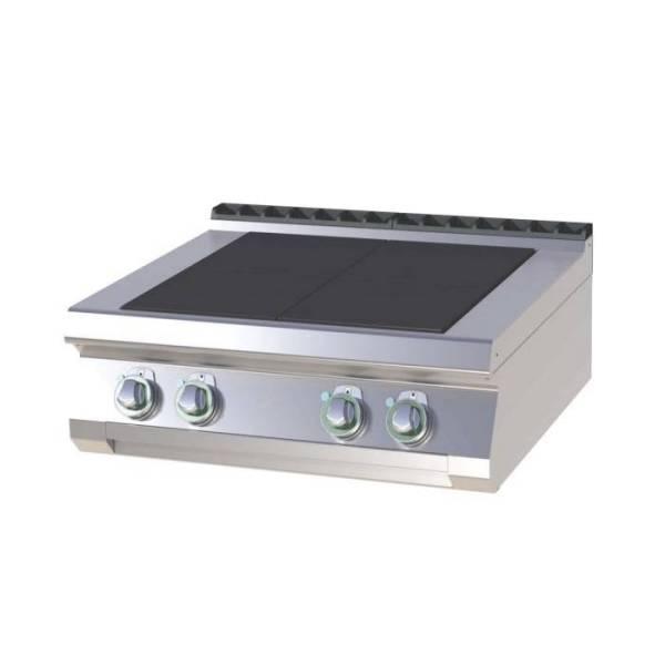 Gastro Elektroherd mit 4 Kochfeldern