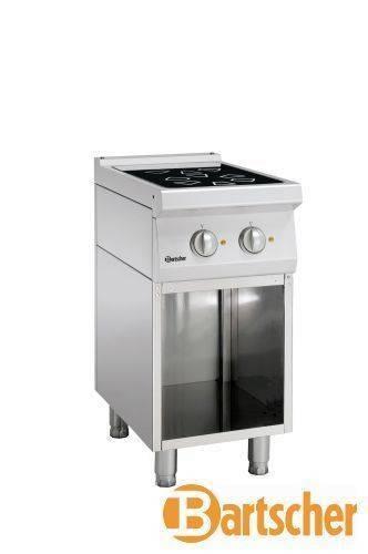 Bartscher Gastro Elektroherd mit 2 Kochfelder
