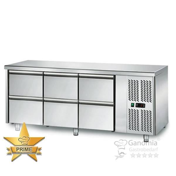 Kühltisch 6 Schubladen Höhenverstellbar