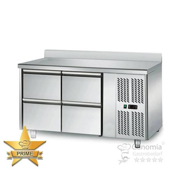 Kühltisch 4 Schubladen Höhenverstellbar mit Aufkantung
