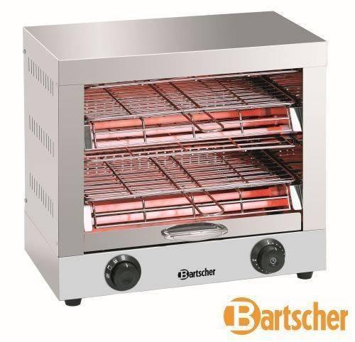 Bartscher Toaster Toast- /Überbackgerät Doppelt 3000W