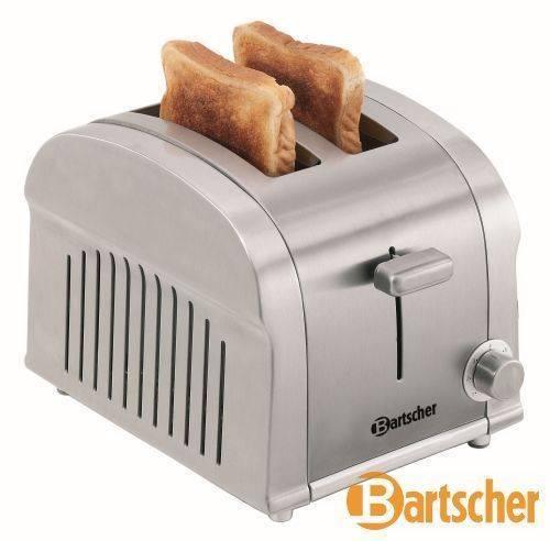 Bartscher Toaster 2 Scheiben Edelstahl