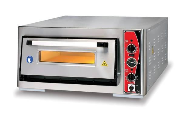 Pizzaofen Einkammer 6x Ø 30 cm Thermometer