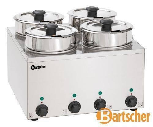 Bartscher Bain Marie Hotpot 4 x Topf, 3,5 L Tischgerät