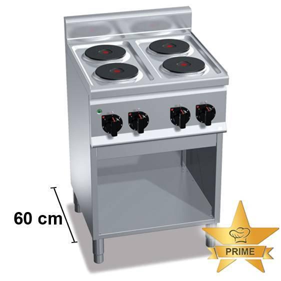 Gastro Elektroherd mit 4 Kochfelder