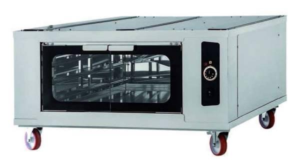 Gärkammer Pizzaofen 6 Bleche - 110 x 96,4 x 55 cm