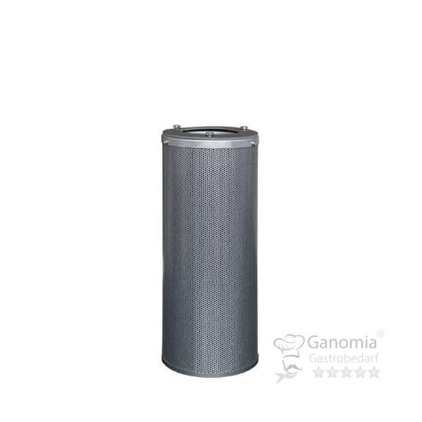 Aktivkohlepatrone verzinkter Stahl 160x400 mm 4,1 kg