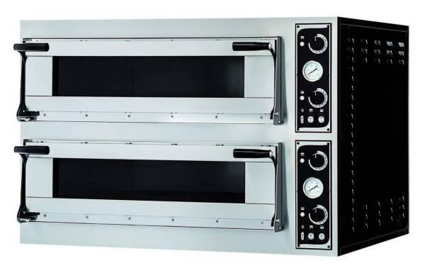 Pizzaofen Virtuoso Vollschamott digital - 2 Kammern bis 500° C