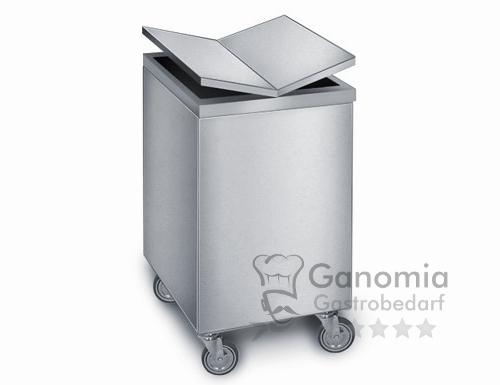 Edelstahl Müllcontainer 125 Liter