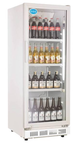Gastro Flaschenkühler 230 Liter Weiß