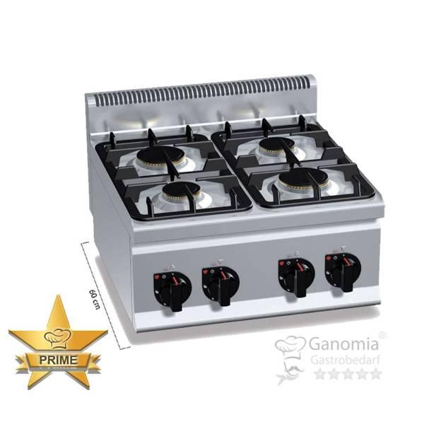 Gasherd Tischgerät 4 Brenner 12,4 kW
