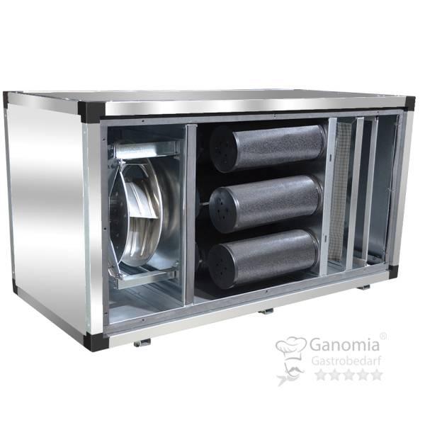Abluftreinigungsanlage mit Motor Vorfilter Aktivkohlefilter 3500 m³/h