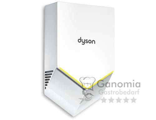 Dyson Händetrockner mit 2x HEPA-Filter aus Polycarbonat, 1 kW, Weiß