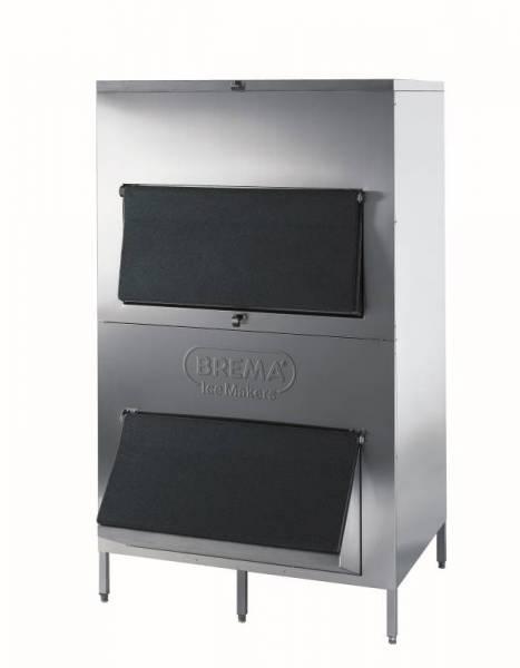 Eiswürfelauffangbehältter 550 kg Edelstahl