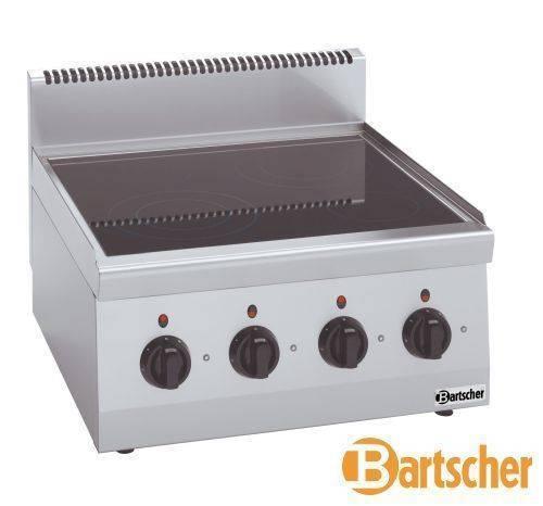 Bartscher Gastro Elektroherd mit 4 Kochfelder