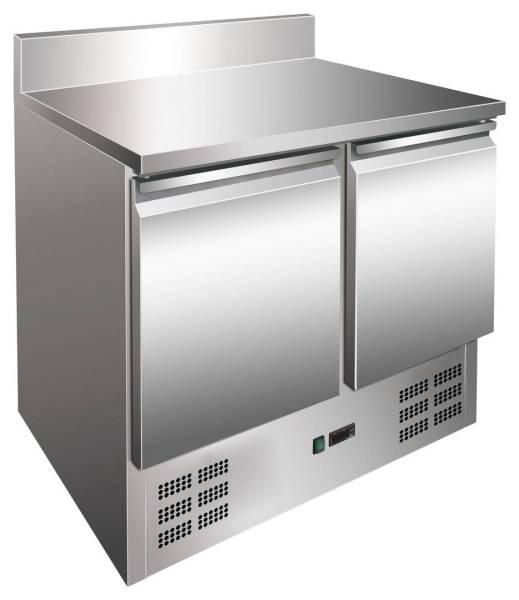 Kühltisch 2 Türen mit Aufkantung