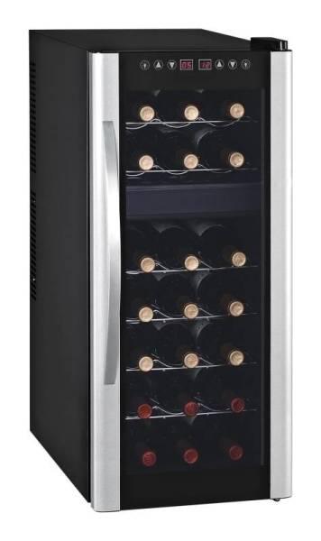 Gastro Weinkühlschrank mit 1 Tür für 21 Flaschen