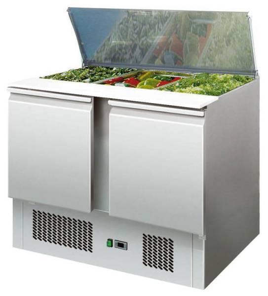 Saladette 2 Türen 179 Liter 300 W