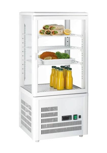Gastro Kühlvitrine Glastür 68 Liter