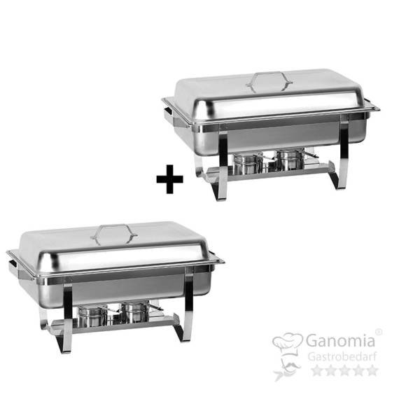 Chafing Dish GN 1/1 Poliert SET