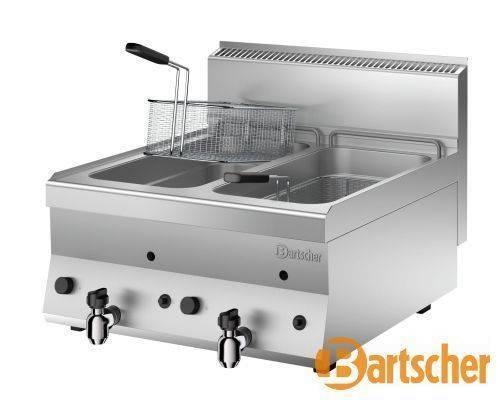 Bartscher Fritteuse Gas Tischgerät 2 x 8 Liter